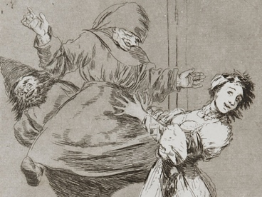 printmakers of the past - printfest presents goya