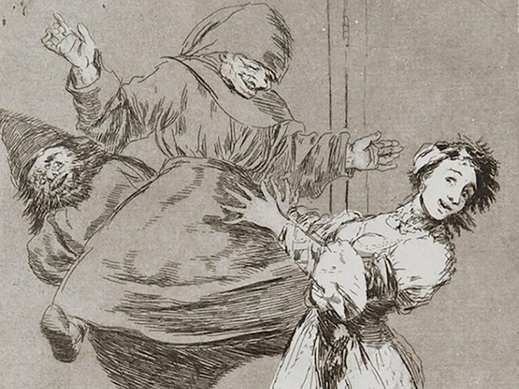 Printmakers of the past - printfest presents Goya