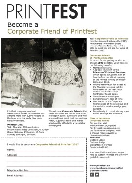 friends of printfest corporate form