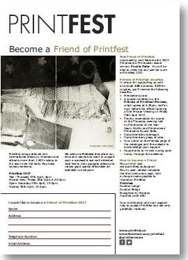 friends of printfest form